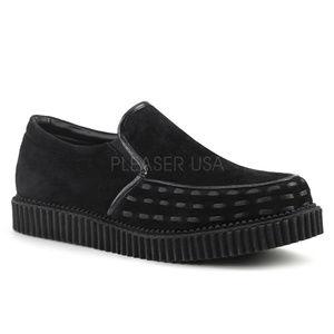 Other - Mens Platform Gothic Punk Loafer Creeper Shoes